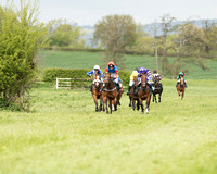 Pony Races - Hunt and hounds
