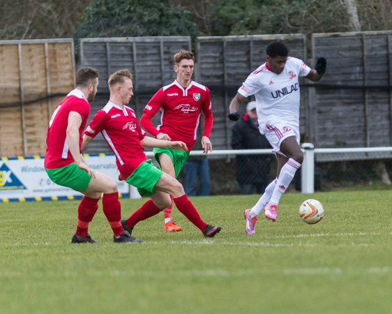 Chalfont Saint Peter 4 - Rams 2